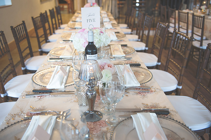 decor rental to match your perfect Canadian rockies wedding