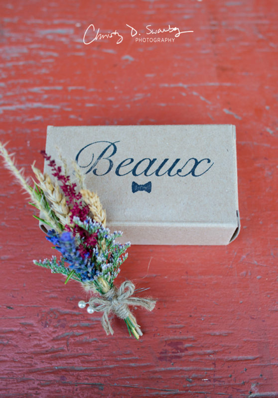 wedding party favour box