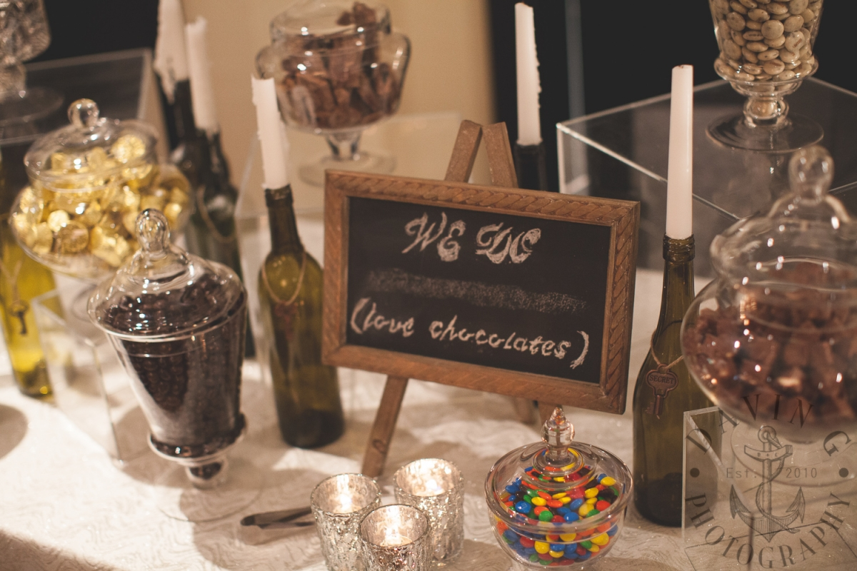 Invermere Wedding Planner Copper Point Resort Chocolate Bar