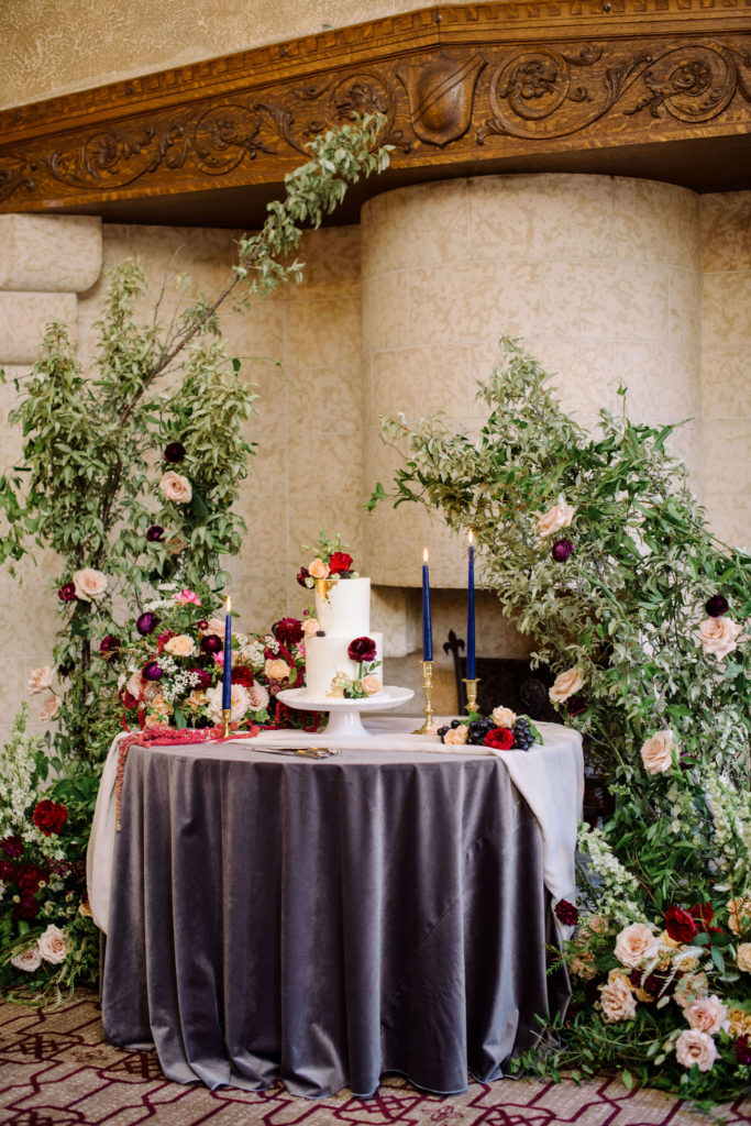 Banff Springs Fairmont mountain wedding elopement intimate summer Conservatory Angus Room